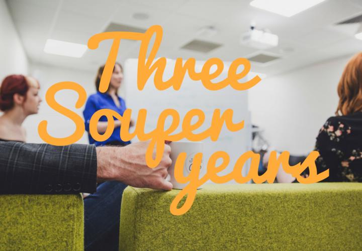 Three Souper Years